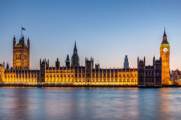 London, houses of parliament, UK election